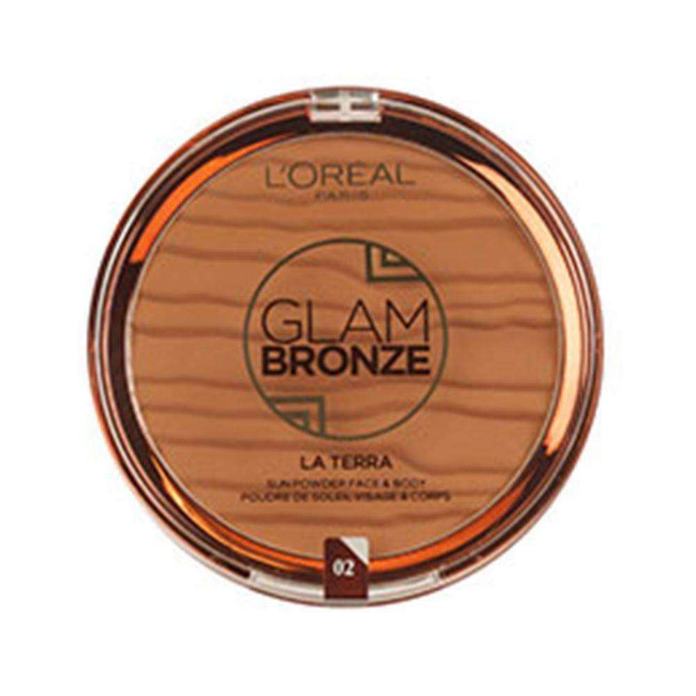 Glam Bronze La Terra French Riviera (4 Shades) Bronzer L'Oreal Paris