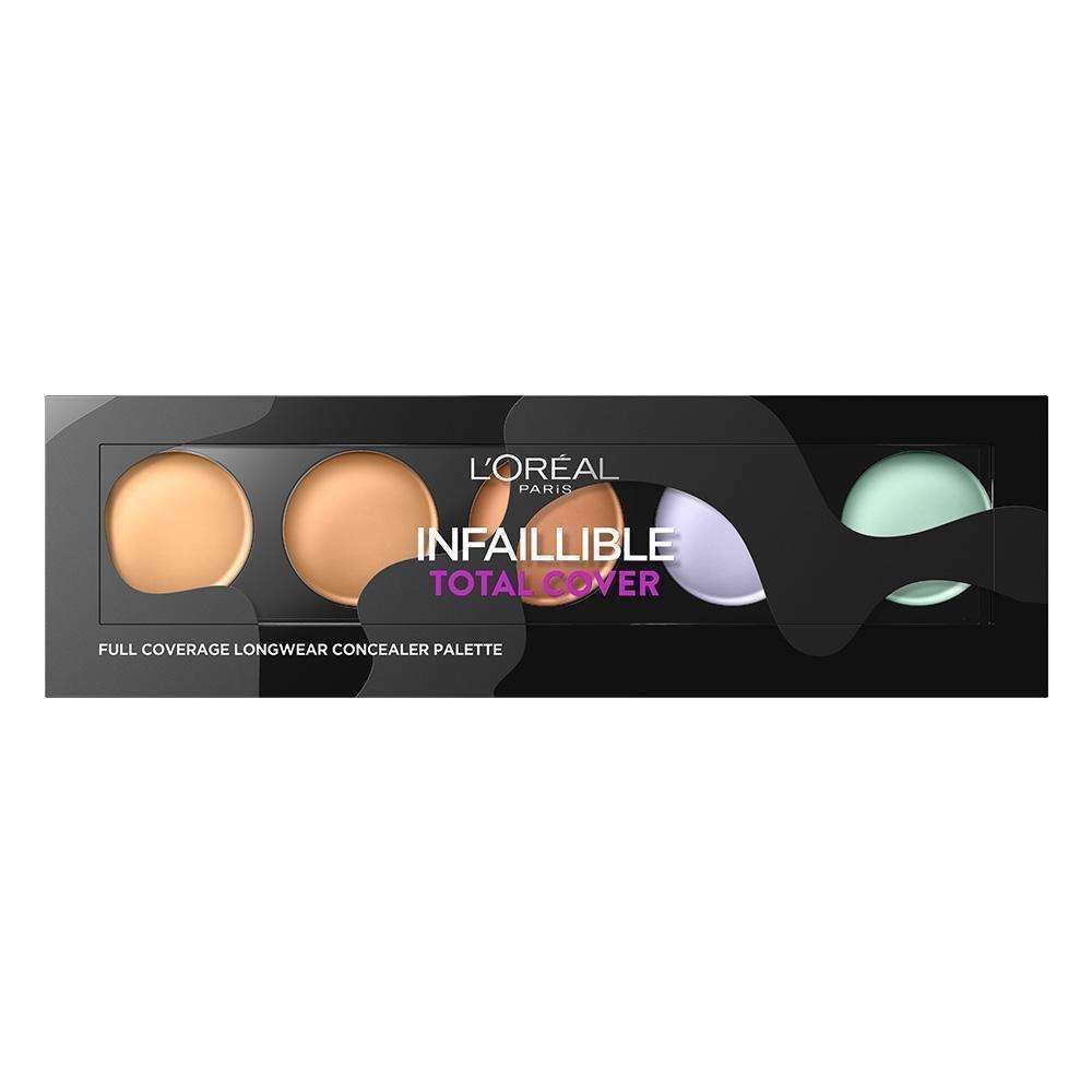 Infaillible Total Cover Full coverage Longwear Concealer Palette
