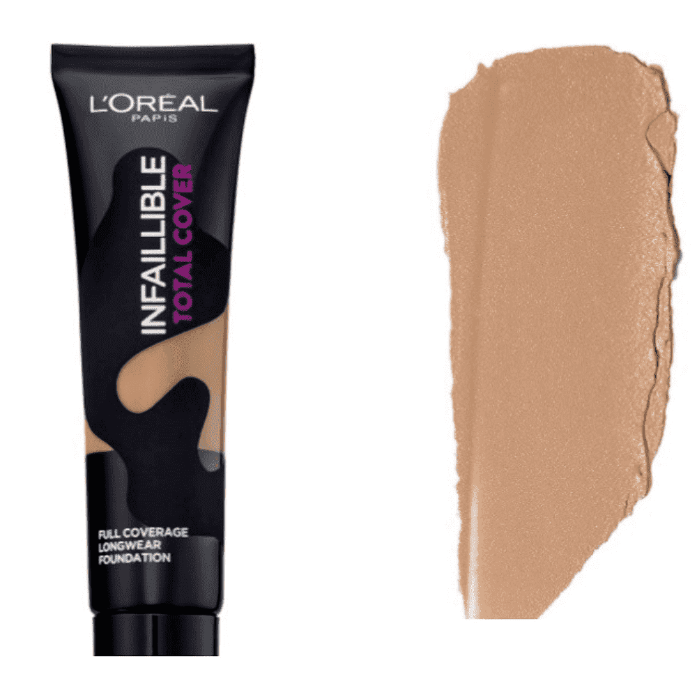 Infaillible Total Cover Full Coverage Long Lasting Foundation (5 Shades)