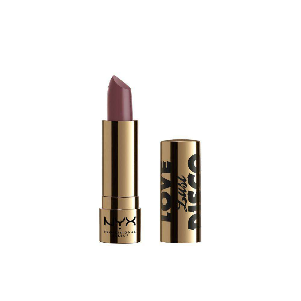 Love Lust Disco Satin Cream Lipstick Lipstick NYX Professional Makeup Romance Me