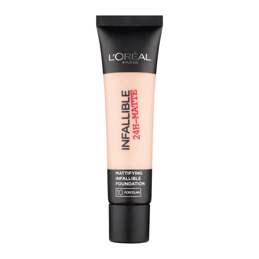 Infallible24H Matte Foundation (7 Shades) Foundation L'Oreal Paris 10 Porcelain