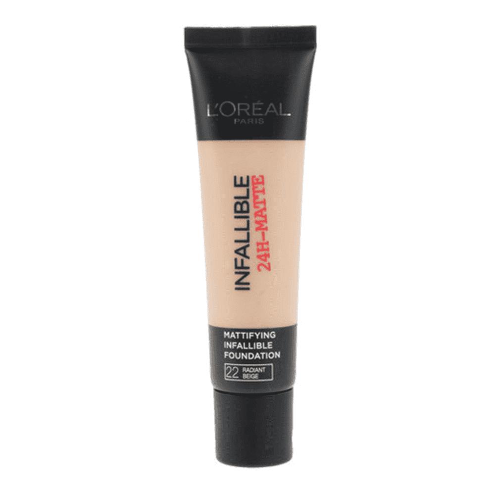 Infallible24H Matte Foundation (7 Shades) Foundation L'Oreal Paris 22 Radiant Beige