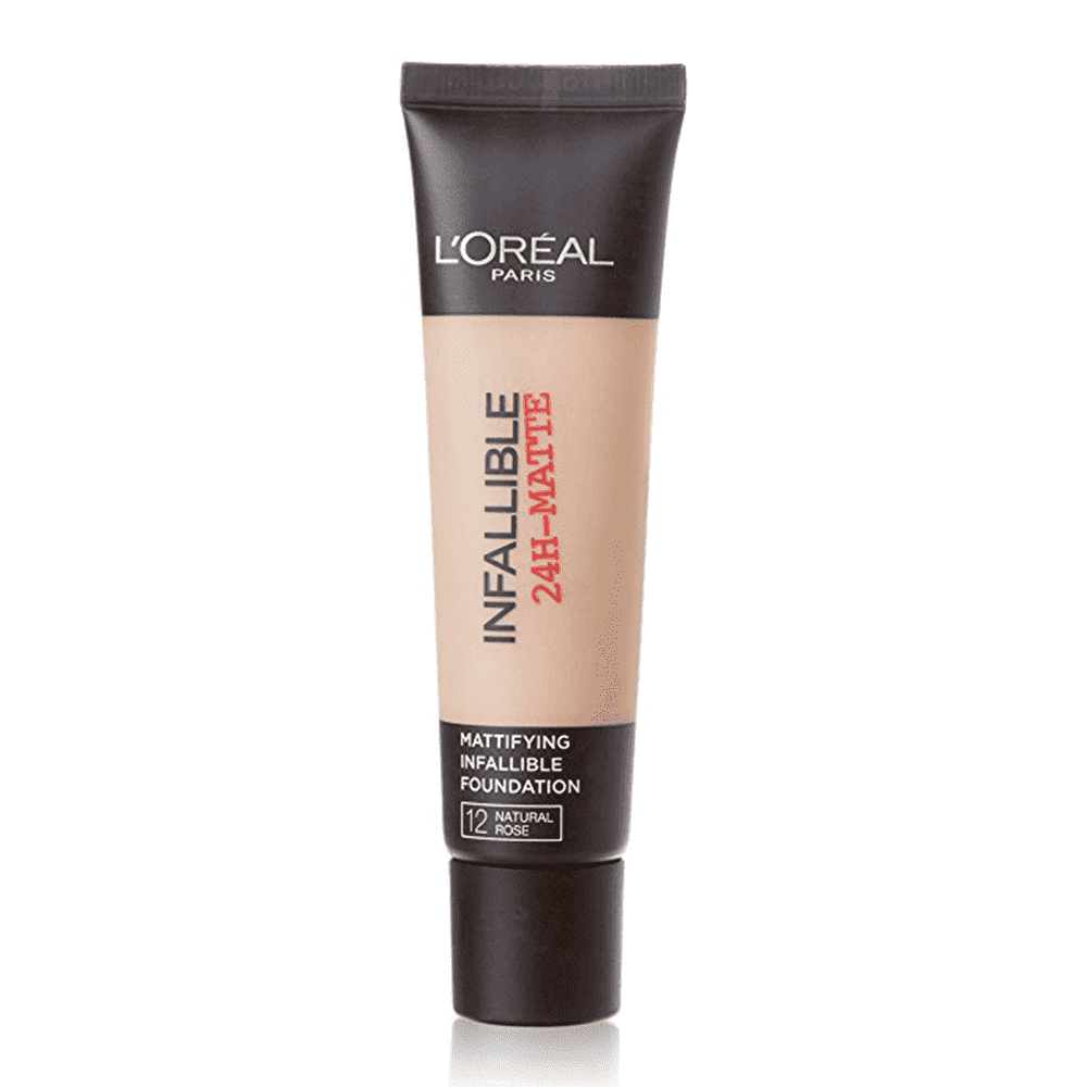 Infallible24H Matte Foundation (7 Shades) Foundation L'Oreal Paris 12 Naturel Rose