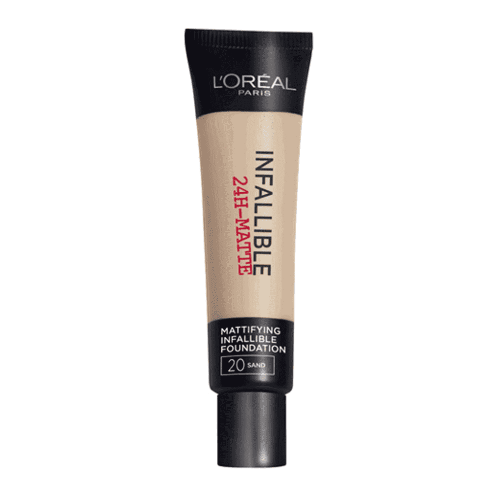 Infallible24H Matte Foundation (7 Shades) Foundation L'Oreal Paris 20 Sable