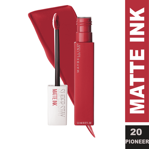 Superstay Matte Ink Liquid Lipstick (19 Shades)