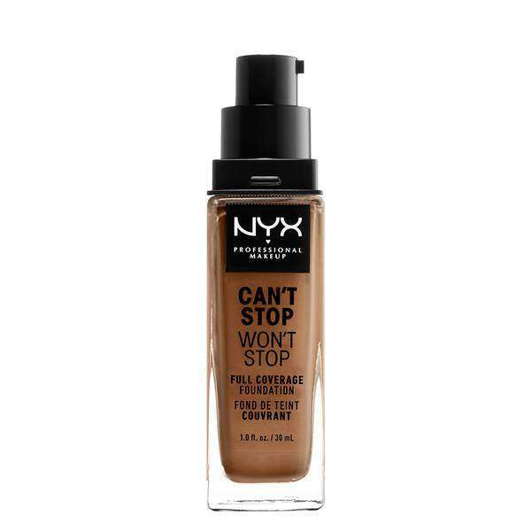 Can't Stop Won't Stop Full Coverage Foundation Foundation NYX Professional Makeup // Mahogany