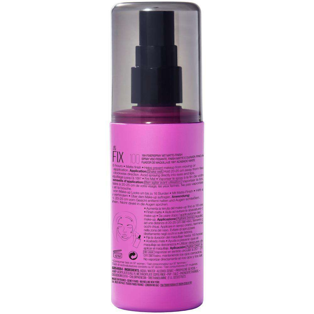 Face Studio Lasting Fix Set Spray Maybelline New York