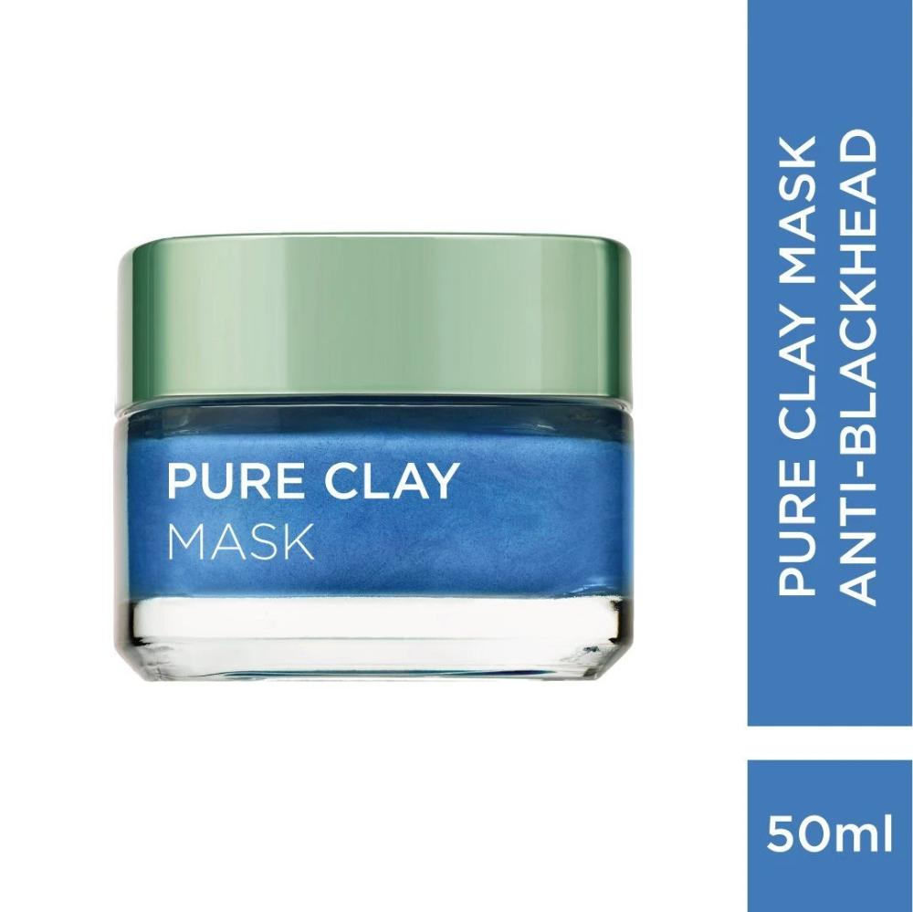 Pure Clay Mask Anti-Blackheads Face Mask L'Oreal Paris 50 ML
