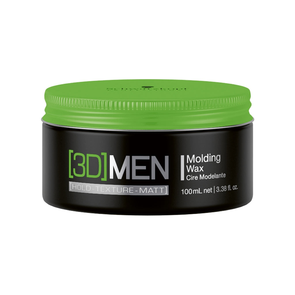3D Men Medium Hold Wax 100mL