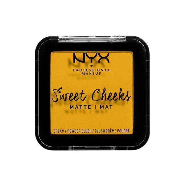 Sweet Cheeks Creamy Powder Blush Matte (12 Shades) Blush NYX Professional Makeup Silence Is Golden