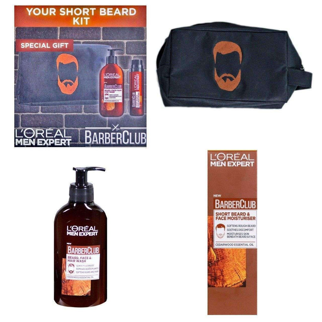 L'Oreal Men Expert Barber Club: Short Beard Kit Men's Kit L'Oreal Paris