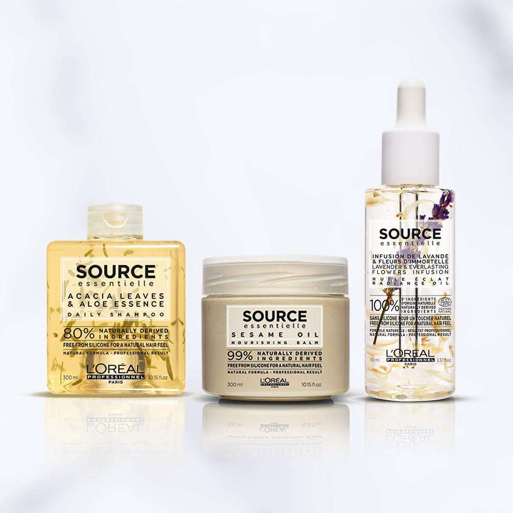 Georges & Mia El Mendelek Source Essentielle Bundle Hair treatment L'Oréal Professionnel