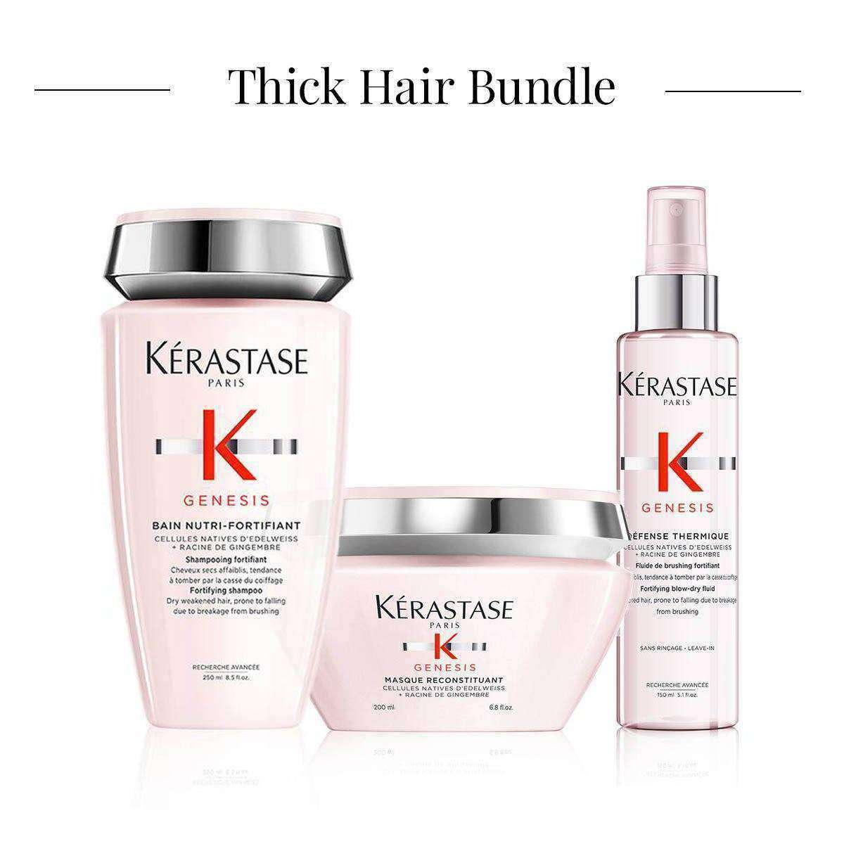Thick Hair Bundle - Shant Tavitian