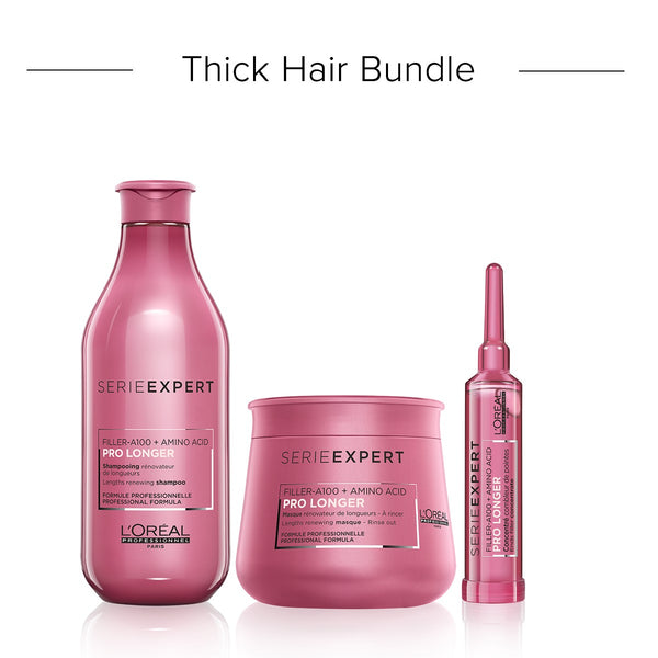 Pro Longer Thick Hair Bundle