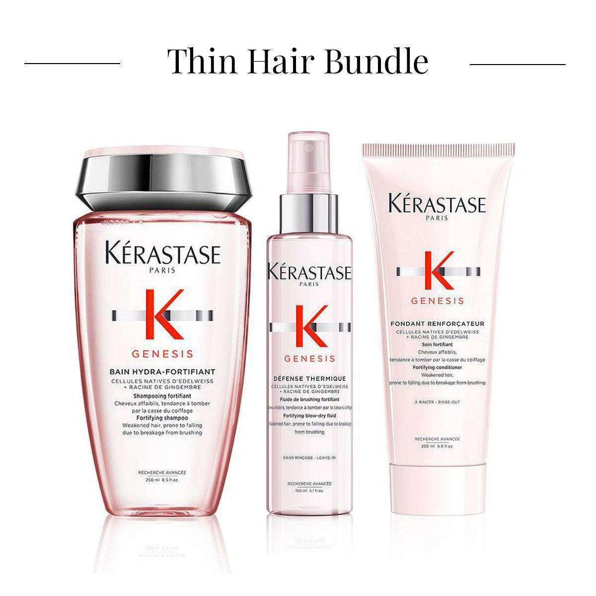 Thin Hair Bundle - Shant Tavitian