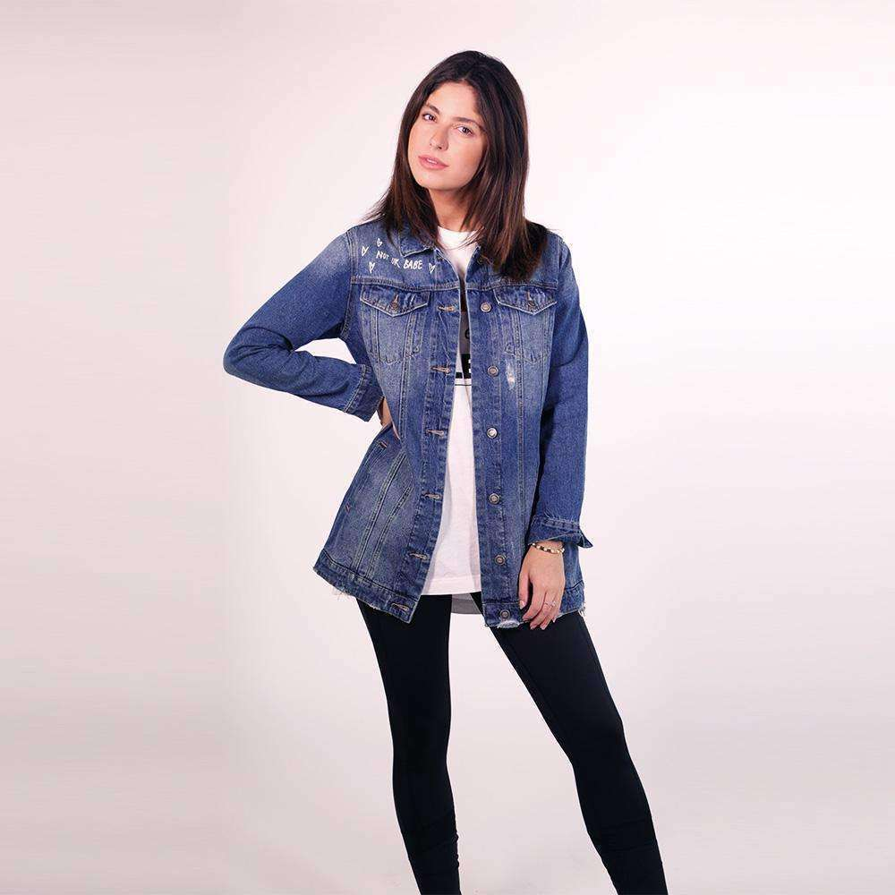 Blue Denim Jacket jacket Tatiana Kaadou