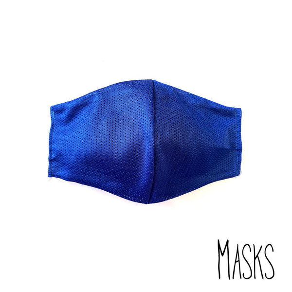 The Electric Blue Mask