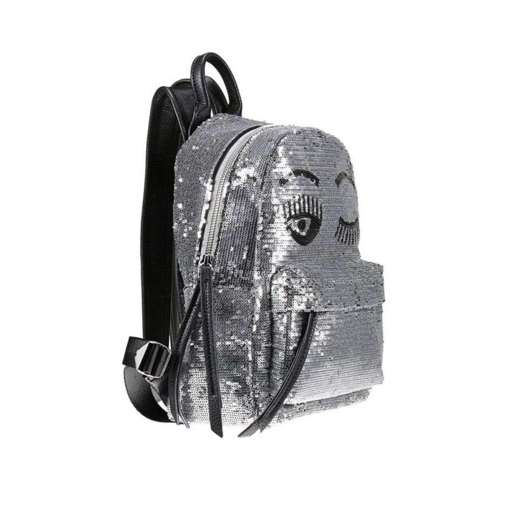 Flirting Sequined Backpack Bags Tatiana Kaadou