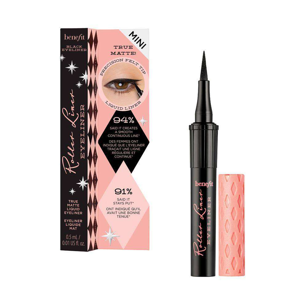 Roller Liner Liquid Eyeliner Black (2 Sizes) Eyeliner Benefit Cosmetics Mini