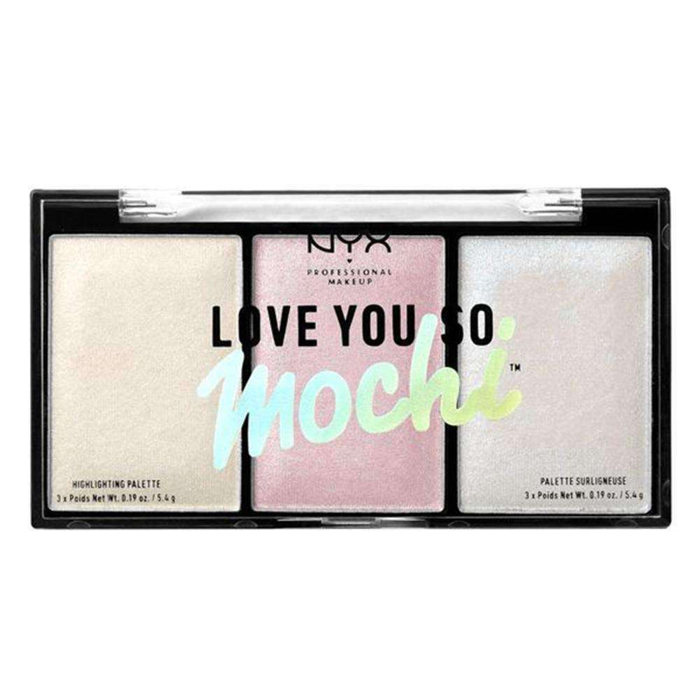 """Love You So Mochi"" Highlighting Palette Highlighting Palette NYX Professional Makeup ARCADE GLAM"
