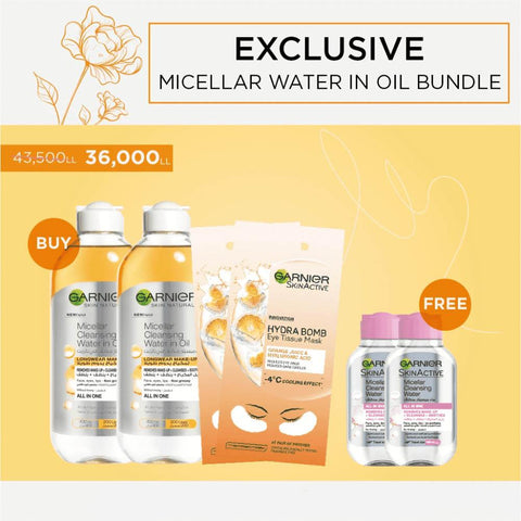 Micellar Water in Oil Bundle