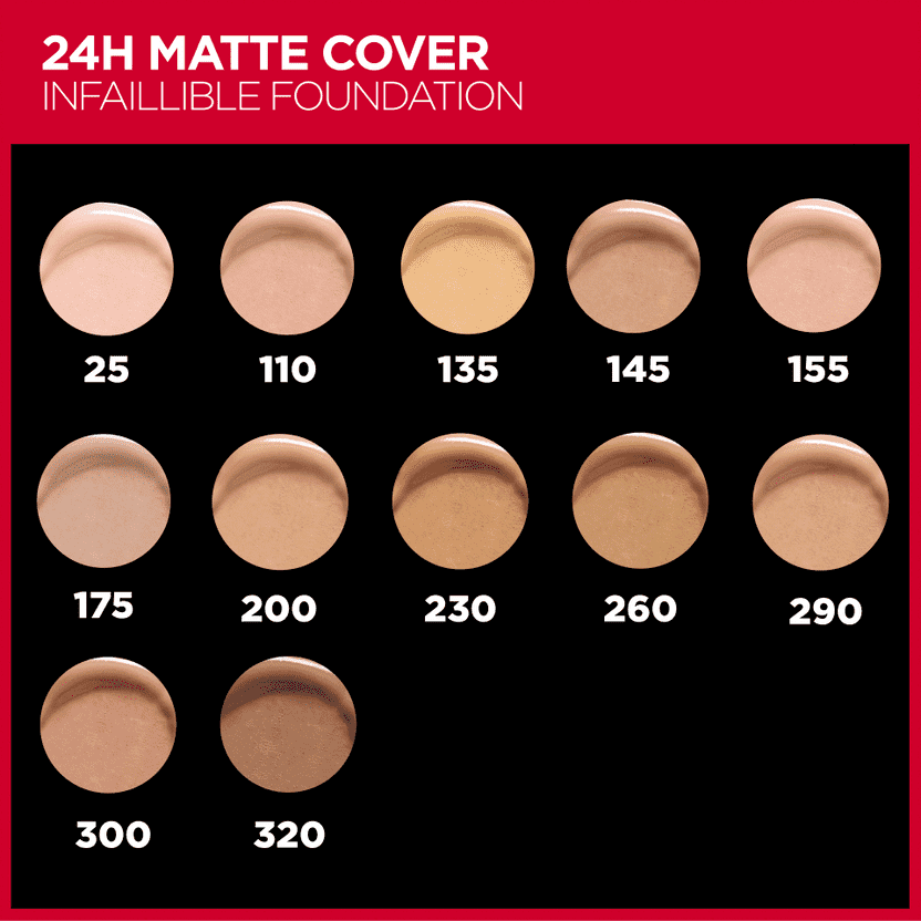 Infaillible 24H Matte Cover Foundation Foundation L'Oreal Paris
