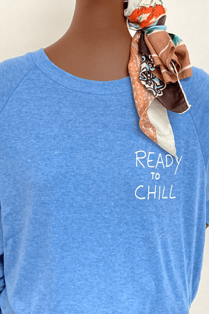 Washed Light Weight Sweatshirt- Chill