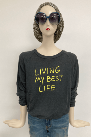 Washed Light Weight Sweatshirt – Life