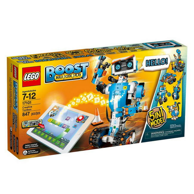 Lego robots boost box robot toy robot kit