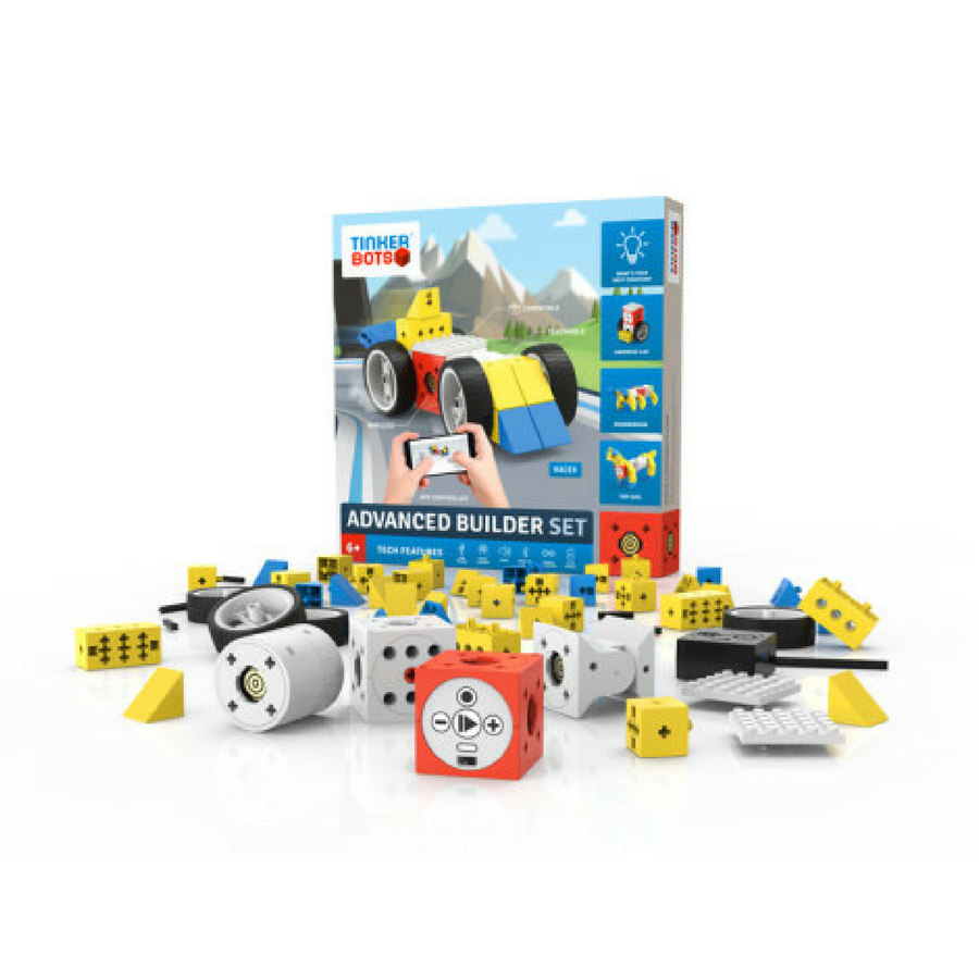 coding blocks Robotics Advanced Builder Set rent robot kit robot toy