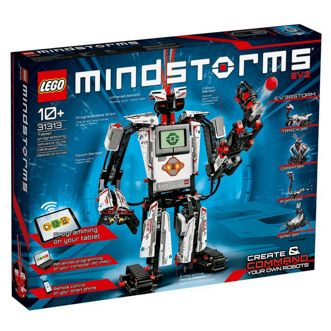 Robot kits for 12 year old STEM education – LurnBot