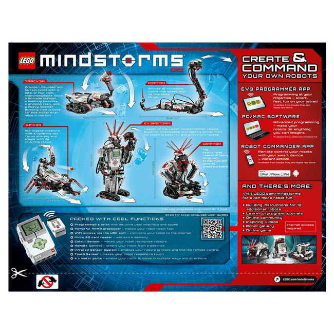 Lego robots Mindstorms EV3 case box robot kit robot toy