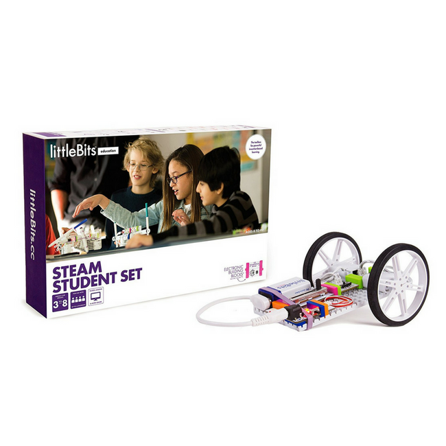Coding blocks LittleBits STEAM Student Set rent robot kit robot toy
