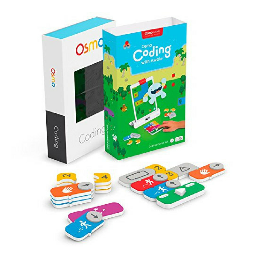 coding games Osmo Genius Kit + Coding Awbie rent robot toy robot kit coding game