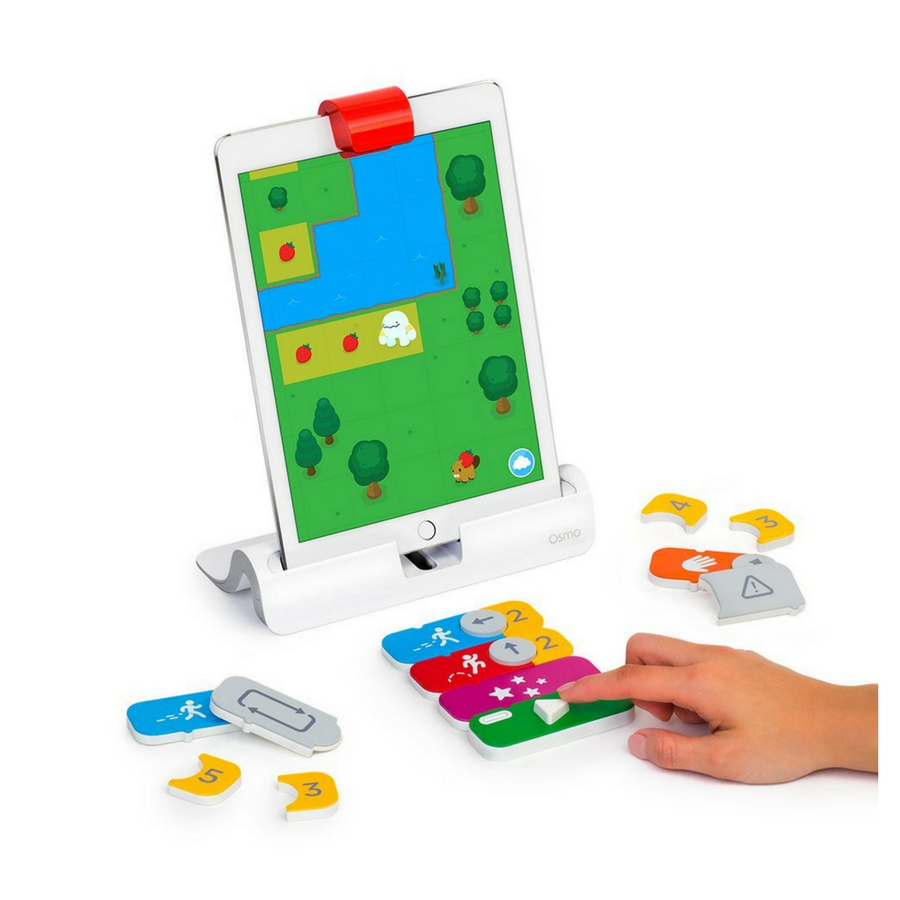 coding games Osmo Genius Kit + Coding Awbie coding game robot toy robot kit coding game