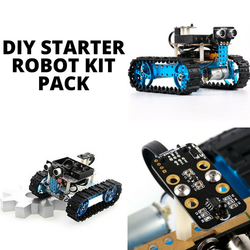 Robotic toolkit DIY starter kit pack rent LurnBot.com