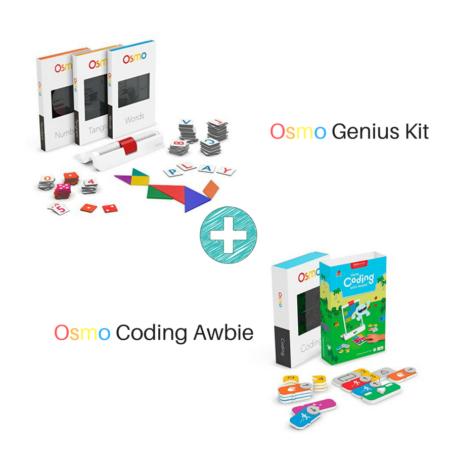 coding games osmo genius kit and coding awbie robot toy robot kit coding game