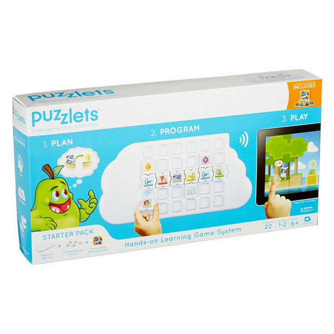 puzzlet interactive game robot kit robot toy coding