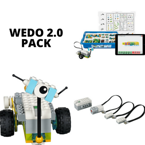 Robotic toolkit WeDo 2.0 package rent LurnBot.com