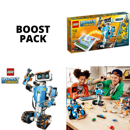 LEGO boost pack rent lurnbot Robotic toolkit