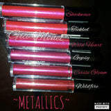 Gia Monet Kleancolor matte lipgloss lipstick metallic chrome long lasting lip color