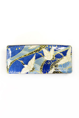 Barrette large WASHI Envol bleu