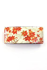 Barrette large WASHI Erable