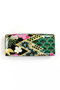 Barrette large WASHI Emeraude