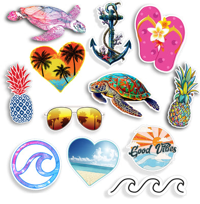 Beach Stickers