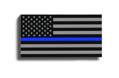 Blue Line USA American Flag