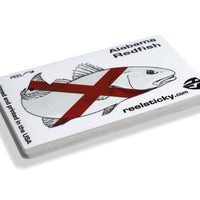 Alabama Redfish Red Fish Sticker
