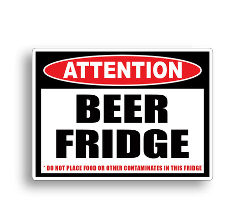 Funny Beer Only Sticker Decal