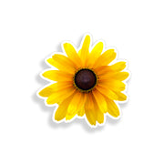 Black Eyed Susan Flower Sticker