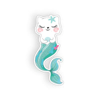 Cat Mermaid Sticker